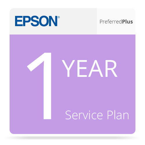 Epson 1-Year Preferred Plus Extended Service Plan for SpectroProofers