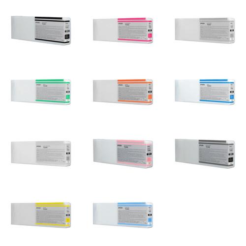Epson Ink Cartridge Set For Stylus Pro 7900 & 9900 Series Printers (700ml)