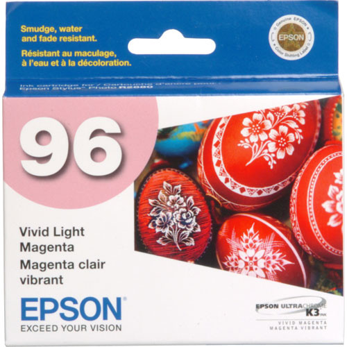 Epson 96 UltraChrome K3 Photo Black 8-Cartridge Ink Set