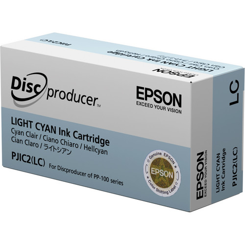 Epson PJIC2-LC Light Cyan Ink Cartridge for the PP-100 Discproducer Auto Printer