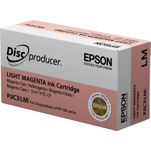 Epson PJIC3-LM Light Magenta Ink Cartridge for the PP-100 Discproducer Auto Printer