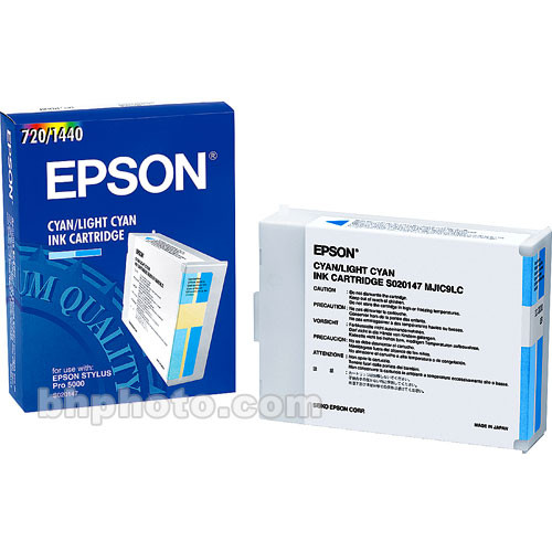 Epson Cyan Ink Cartridge for Pro 5000