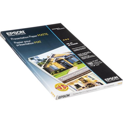 "Epson Presentation Paper Matte (11 x 17"", 100 Sheets)"