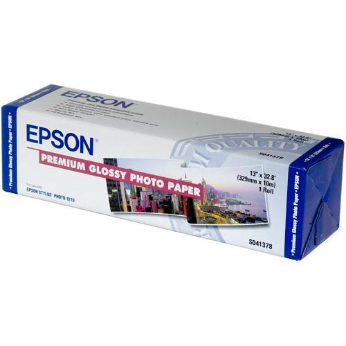 "Epson Premium Glossy Archival Photo Inkjet Paper (13"" x 32')"