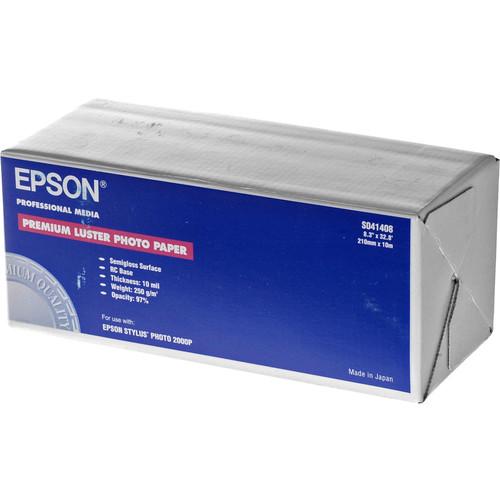 "Epson Premium Luster Photo Inkjet Paper (8.3"" x 32.8' Roll)"