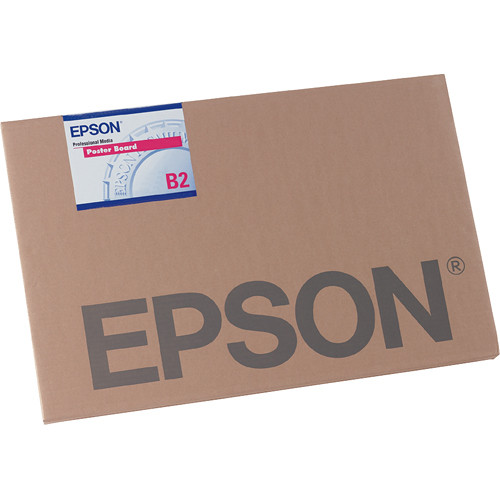 "Epson Enhanced Matte Posterboard (24 x 30"", 10 Sheets)"