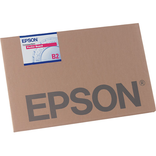 "Epson Enhanced Matte Posterboard (30 x 40"", 5 Sheets)"
