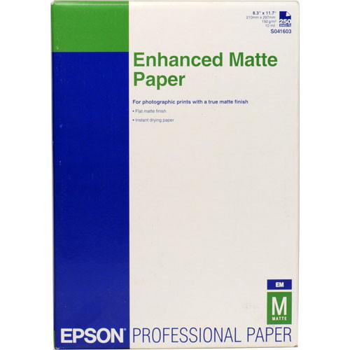 "Epson Ultra Premium Presentation Paper Matte - 8.3 x 11.7"" - 250 Sheets"