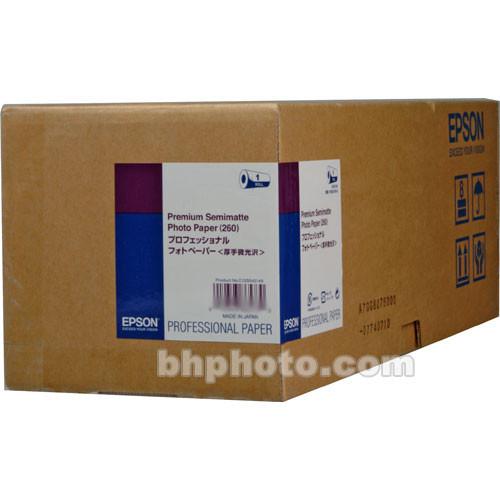 "Epson Premium Semimatte Archival Photo Inkjet Paper (36"" x 100' Roll)"