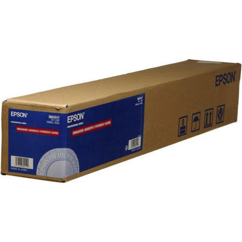 "Epson PremierArt Water Resistant Premium Satin Canvas  (13"" x 20'  Roll)"