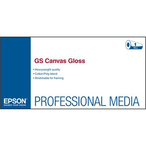 "Epson GS Canvas Gloss for Solvent Ink Printers (36"" x 75' Roll)"