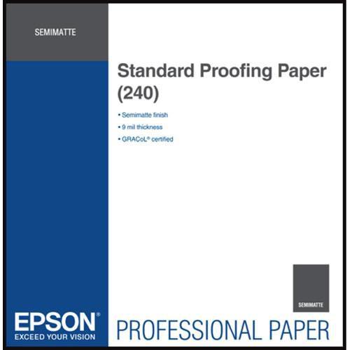 """Epson Standard Inkjet Proofing Paper (17"""" x 100' Roll)"""