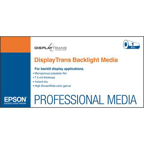 "Epson DisplayTrans Backlight Media: 24"" x 100'"