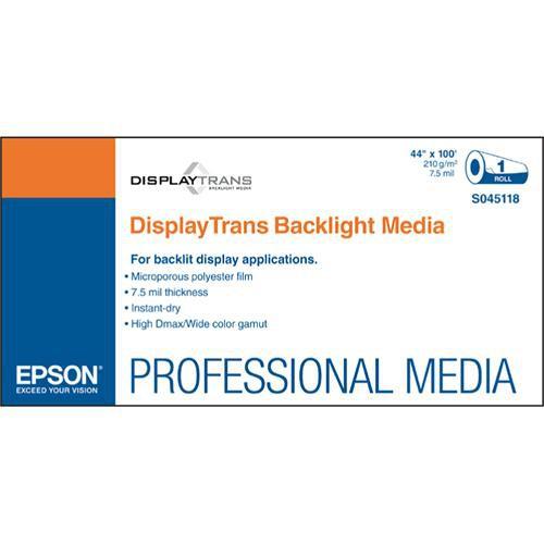 """Epson DisplayTrans Backlight Media: 44"""" x 100'"""