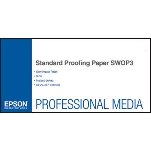 "Epson Standard Proofing Paper SWOP3 (13 x 19"", 100 Sheets)"
