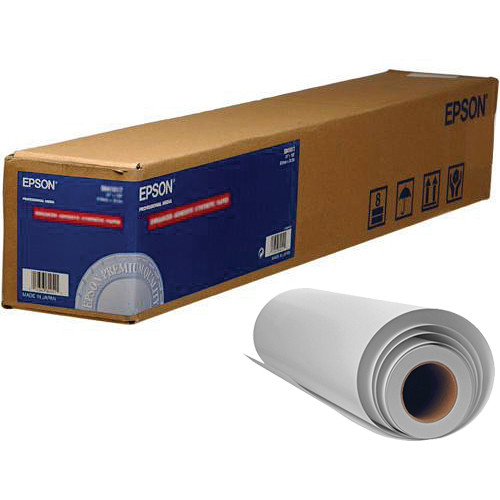 """Epson Glossy Exhibition Canvas Archival Inkjet Paper (13"""" x 20' Roll)"""