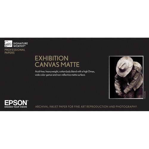 """Epson Exhibition Canvas (17 x 22"""", Matte, 25 Sheets)"""