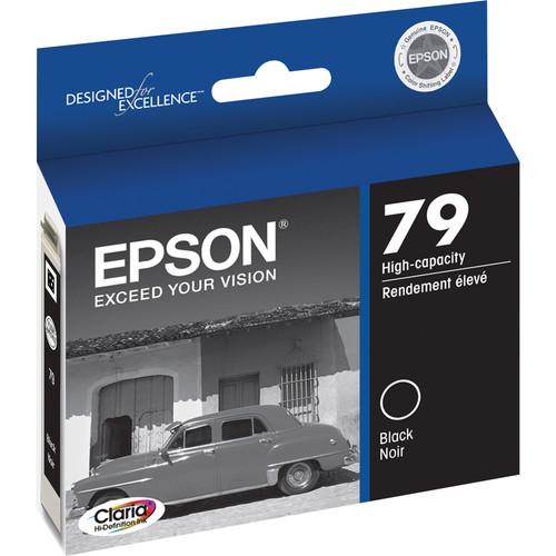 Epson 79 Ink Six Cartridge Set for Stylus 1400 & Artisan 1430 Printers