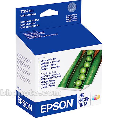 Epson Color Cartridge for Epson Stylus Color C40UX, 480SX & 580 Printer