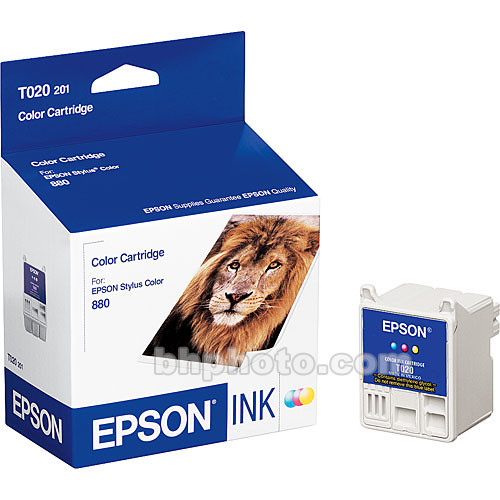 Epson Color Ink Cartridge for Stylus Color 880