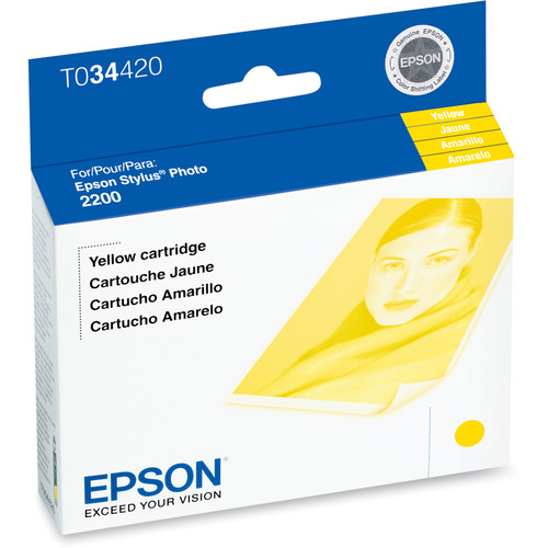 Epson UltraChrome Yellow Ink Cartridge