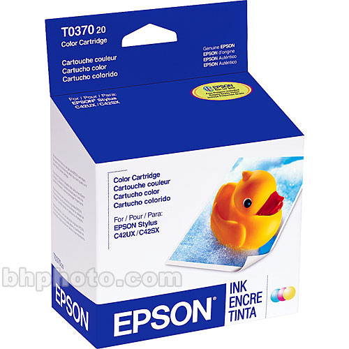 Epson Color Ink Cartridge for Epson Stylus C42UX & C44UX Printers