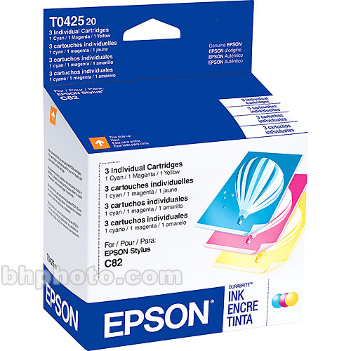 Epson DuraBrite Color Ink Cartridge Set