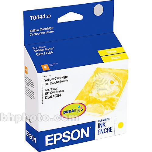 Epson Yellow Ink Cartridge for Epson Stylus C64, C66, C84, C86, CX4600, CX6400 & CX6600 Printers
