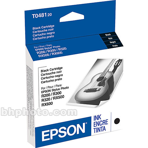 Epson Black Ink Cartridge for Stylus Photo R200, R220, R300, R320, R340 & RX500, RX600, RX620 Printers