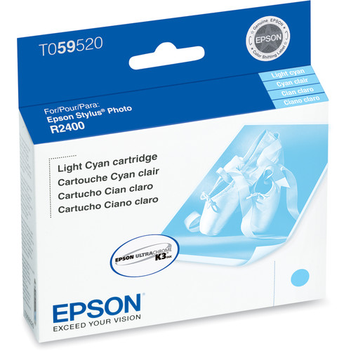 Epson UltraChrome Light Cyan Ink Cartridge