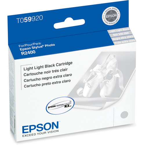 Epson UltraChrome Light Light Black Ink Cartridge