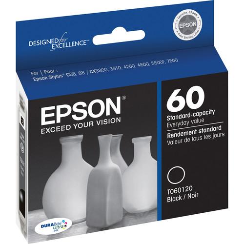 Epson 60 Black Ink Cartridge