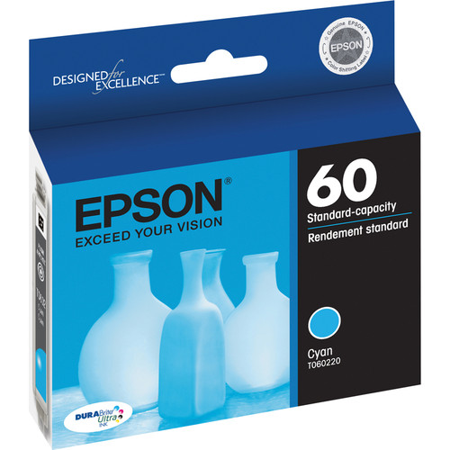 Epson 60 Cyan Ink Cartridge