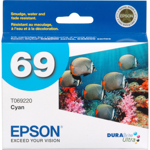 Epson 69 Cyan Ink Cartridge