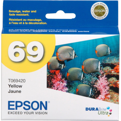 Epson 69 Yellow Ink Cartridge