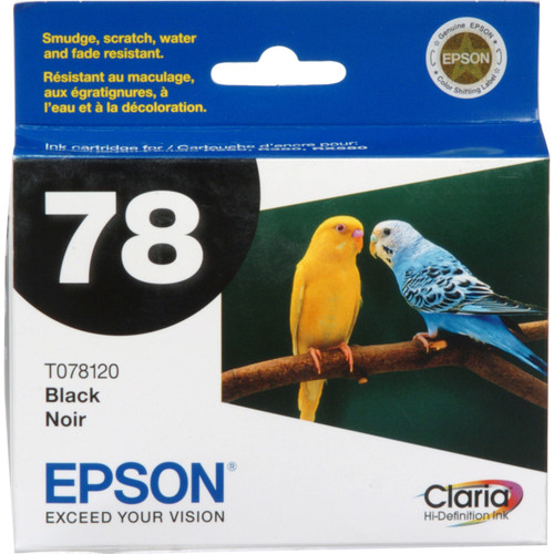 Epson 78 Claria Hi-Definition Black Ink Cartridge