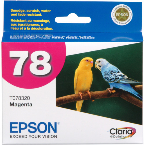 Epson 78 Claria Hi-Definition Magenta Ink Cartridge