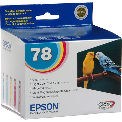 Epson 78 Claria Hi-Definition Ink Cartridge Multipack