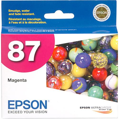 Epson 87 Magenta Ink Cartridge