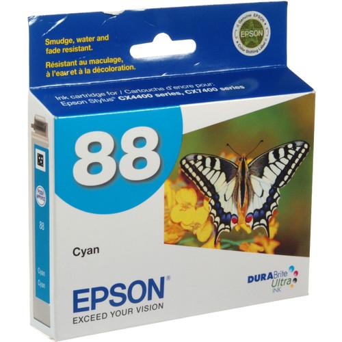 Epson 88 Moderate-Capacity Cyan Ink Cartridge