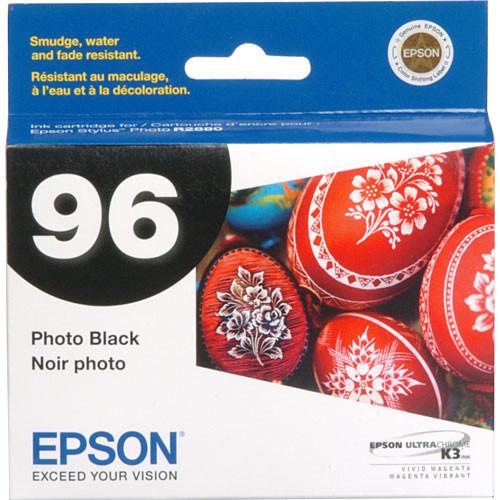 Epson 96 UltraChrome K3 Photo Black Ink Cartridge