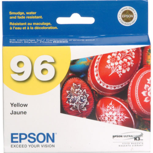 Epson 96 UltraChrome K3 Yellow Ink Cartridge