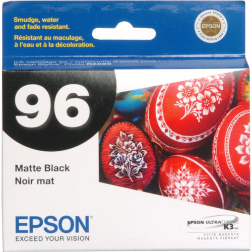 Epson 96 UltraChrome K3 Matte Black Ink Cartridge