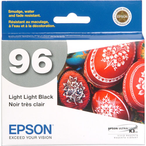 Epson 96 UltraChrome K3 Light Light Black Ink Cartridge
