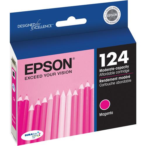 Epson 124 Moderate-Capacity Magenta Ink Cartridge