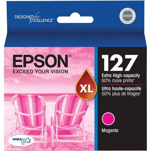 Epson T127320 127 Extra High-Capacity Magenta Ink Cartridge