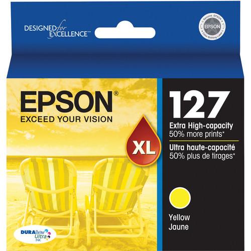 Epson T127420 127 Extra High-Capacity Yellow Ink Cartridge
