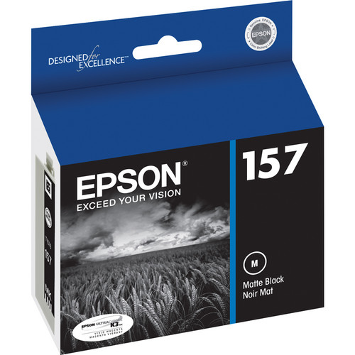Epson 157 Matte Black Ink Cartridge