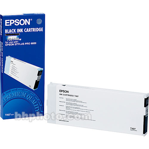 Epson Black Ink Cartridge