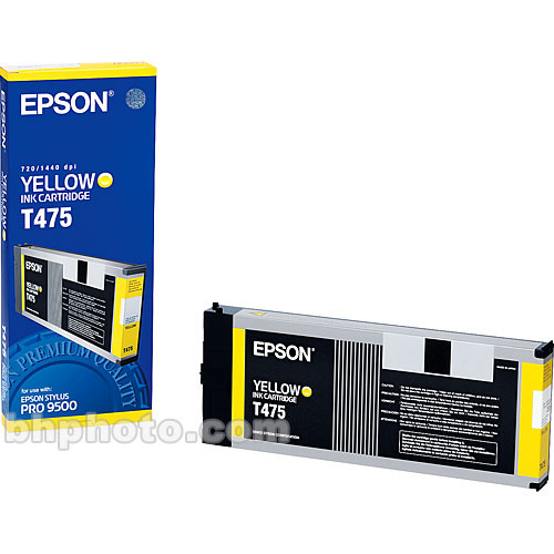 Epson Yellow Cartridge